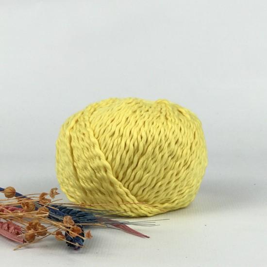 100 gr Cotton Waves %100 Cotton İhraç Fazlası El Örgü İpi -RENKLİ