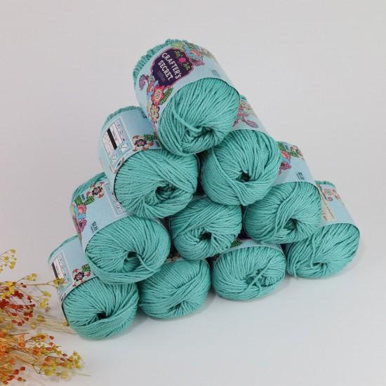 71 gr 10 Adet Crafters Secret Cotton - RENKLİ