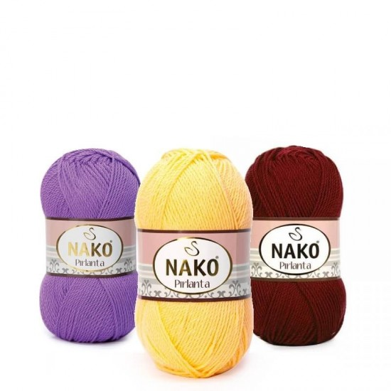 Amigurumi örgüleriniz için Nako Pırlanta... - Nako El Örgü ... | 550x550