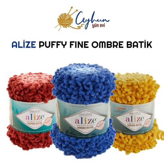 Alize Puffy Fıne Ombre Batik