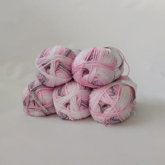 500 gr Ebruli Bebe El Örgü İpleri